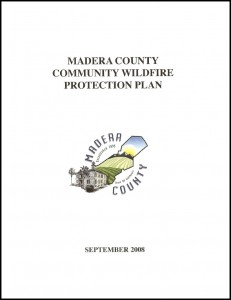 2008 Madera County Community Wildfire Protection Plan Cover Page